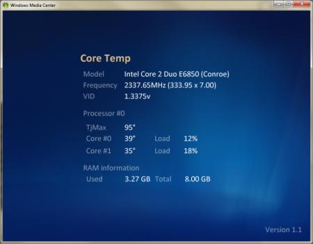 Core Temp – важнейшая программа для ПК
